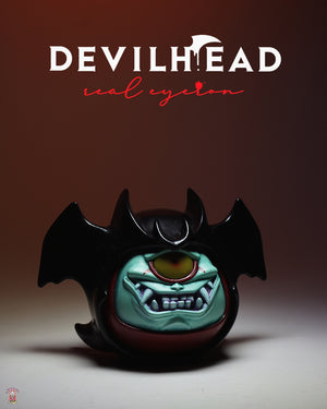 Jukebox Vinyl brings you MonsterMind Go Nagai Devilman series, Devilhead designer toy and art toy