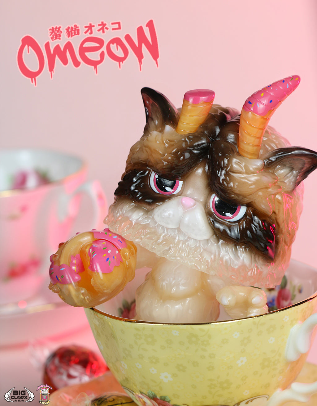 Omeow (Strawberry Donut Ver.)