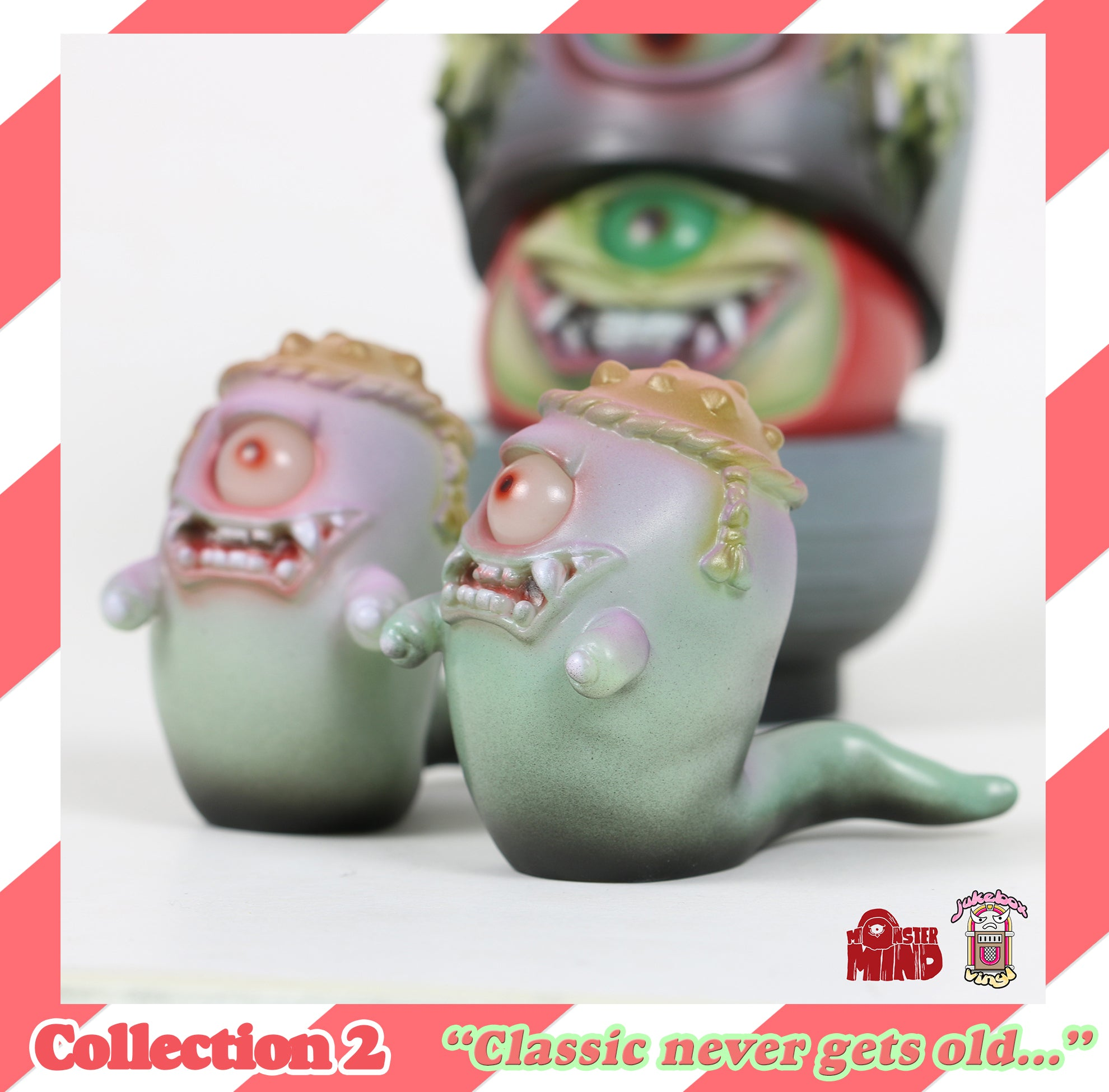 Evil Daruma in disguise with ghostly (Collection TWO one-off version)