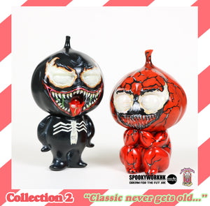 Garlic Twins (Venom x Carnage) - Jukebox Vinyl Collection 2 Special Edition