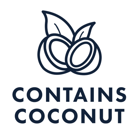 this hamper has items that contain coconut