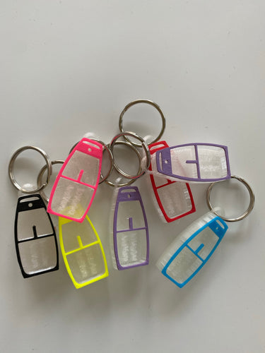 Optimist Keychain - various colours available or choose your own