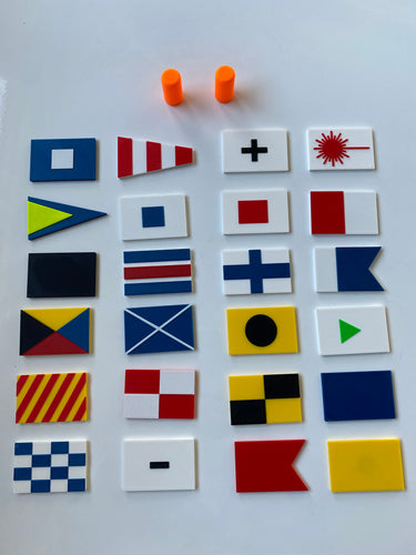 Pro racer 24 flag kit including additional buoys with magnets