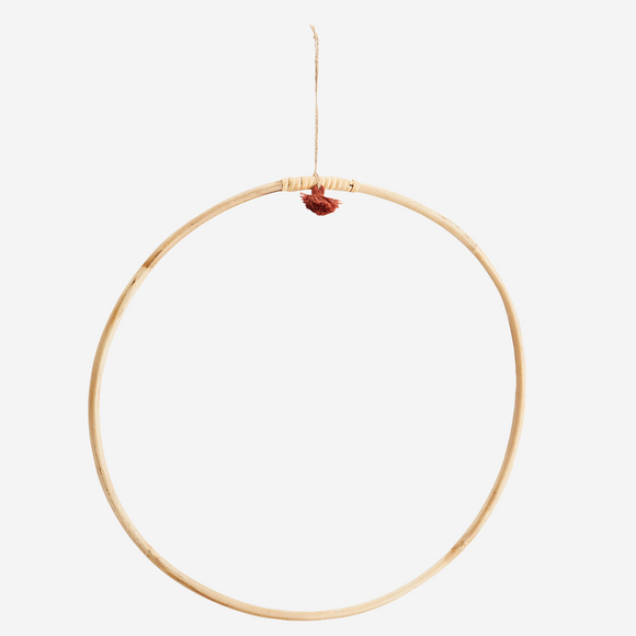 Bamboo wreath ring - Round 40 cm - Bamboo
