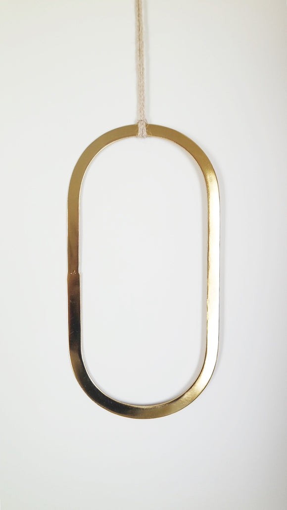 Crown - Oval 30 cm - Gold