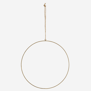 Crown - Round 30 cm - Gold