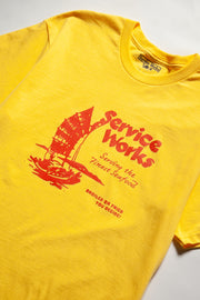 Sail Away Tee - Yellow