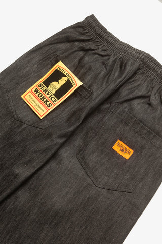 Classic Chef Pants - Dark Washed Denim