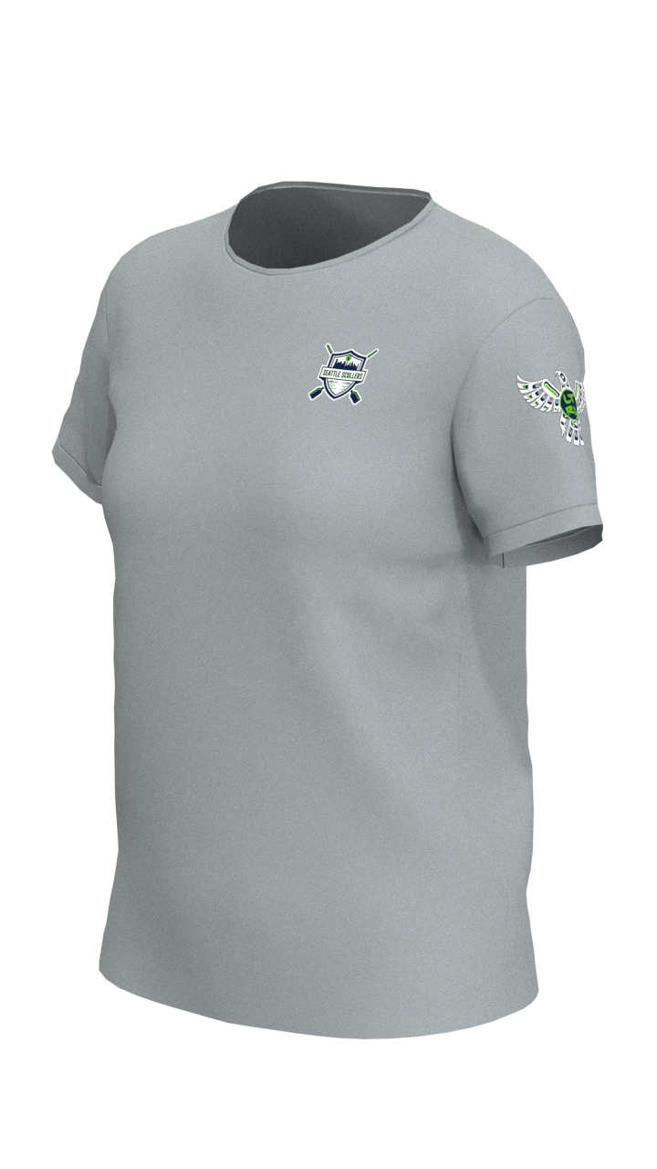 Seattle Scullers Womens Short Sleeve Tech Shirt