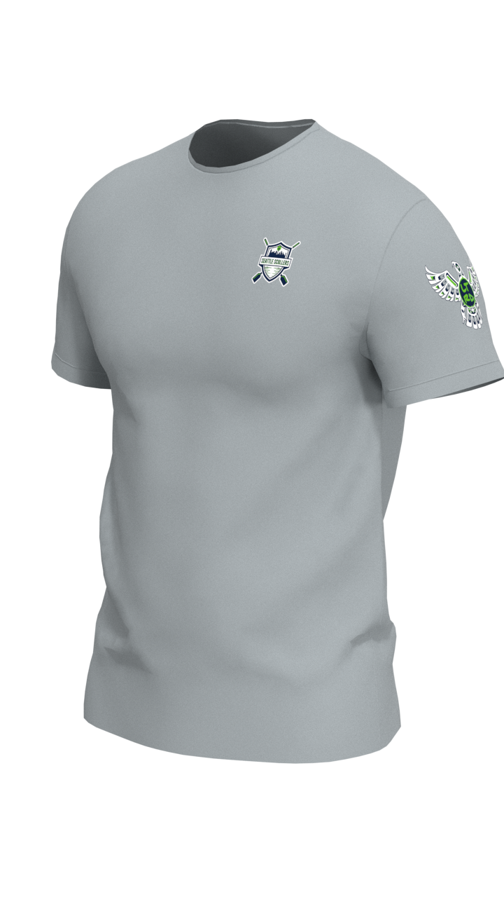 Seattle Scullers Mens Short Sleeve Tech Shirt
