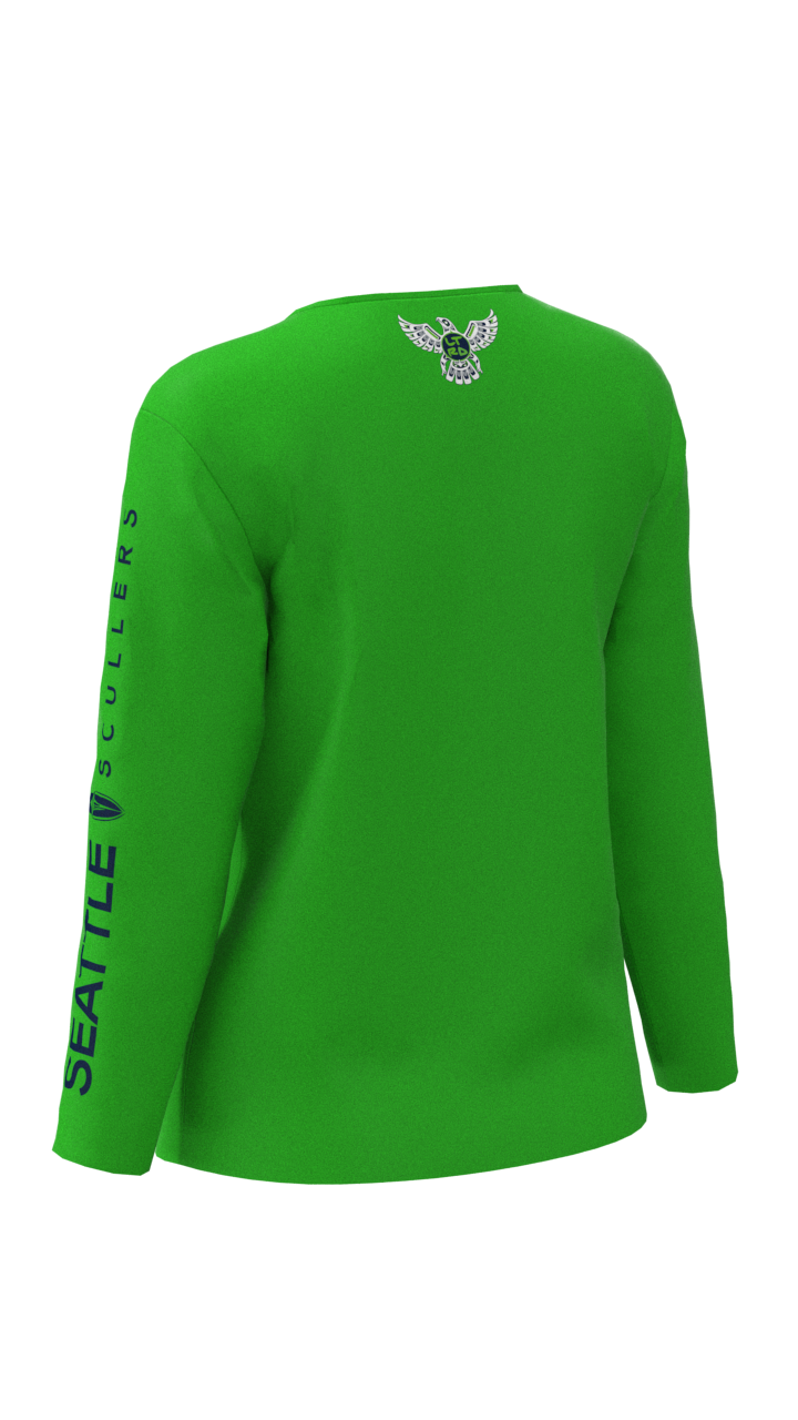 Seattle Scullers Womens Long Sleeve Tech Shirt