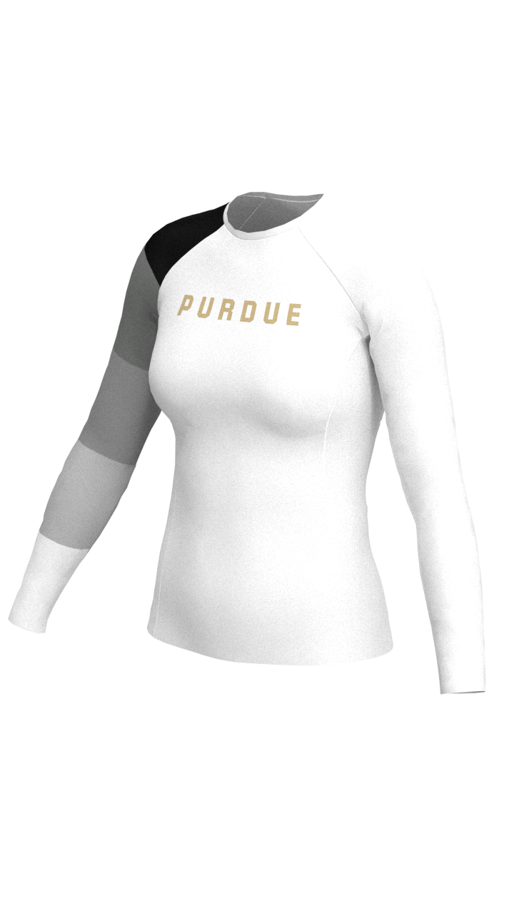 Purdue Womens Long Sleeve Baselayer
