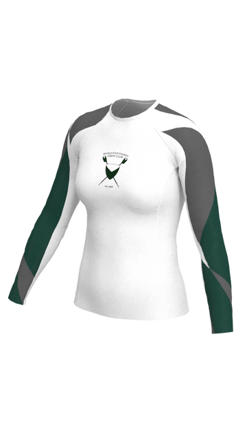 Michigan State Womens White Long Sleeve Baselayer