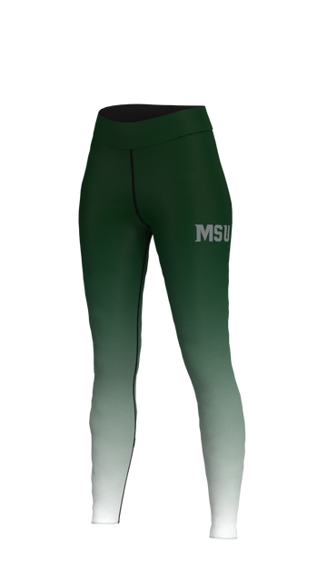 Michigan State Womens Fade Leggings