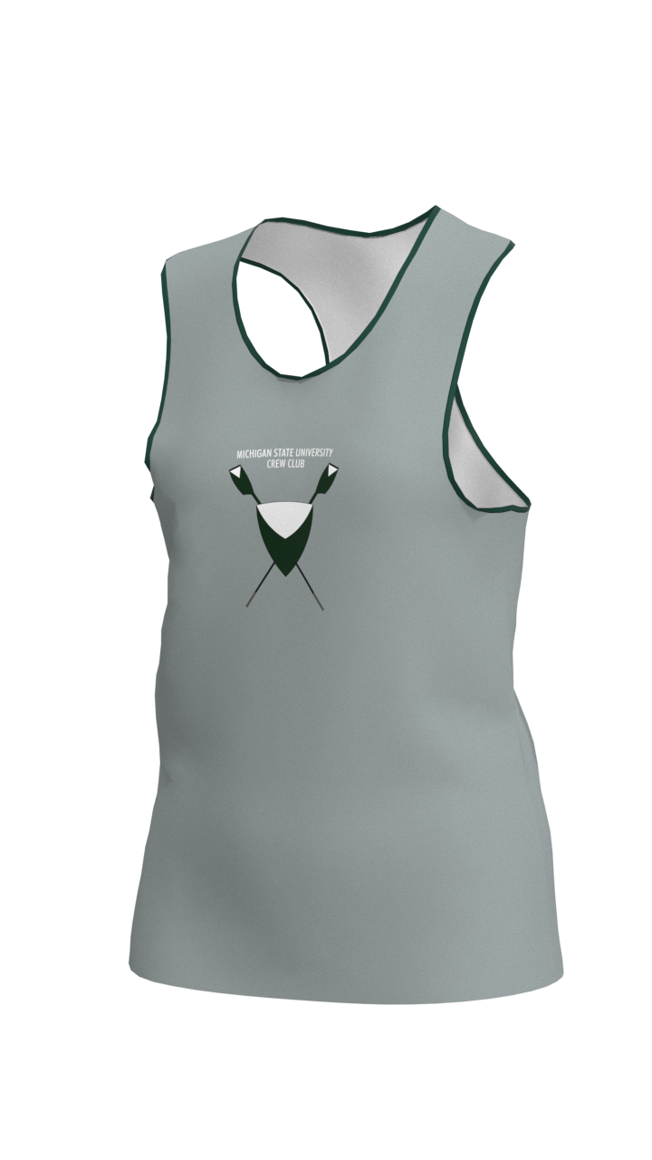Michigan State Womens Grey Vest