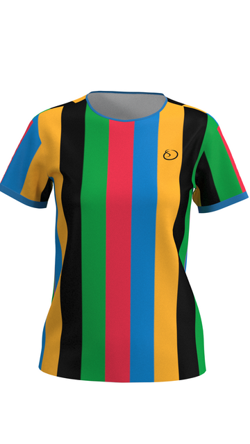 Olympic Striped Women's Shirt