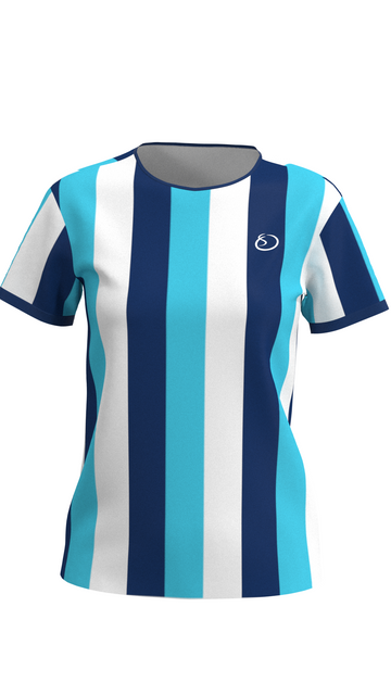 Blue Striped Women's Shirt