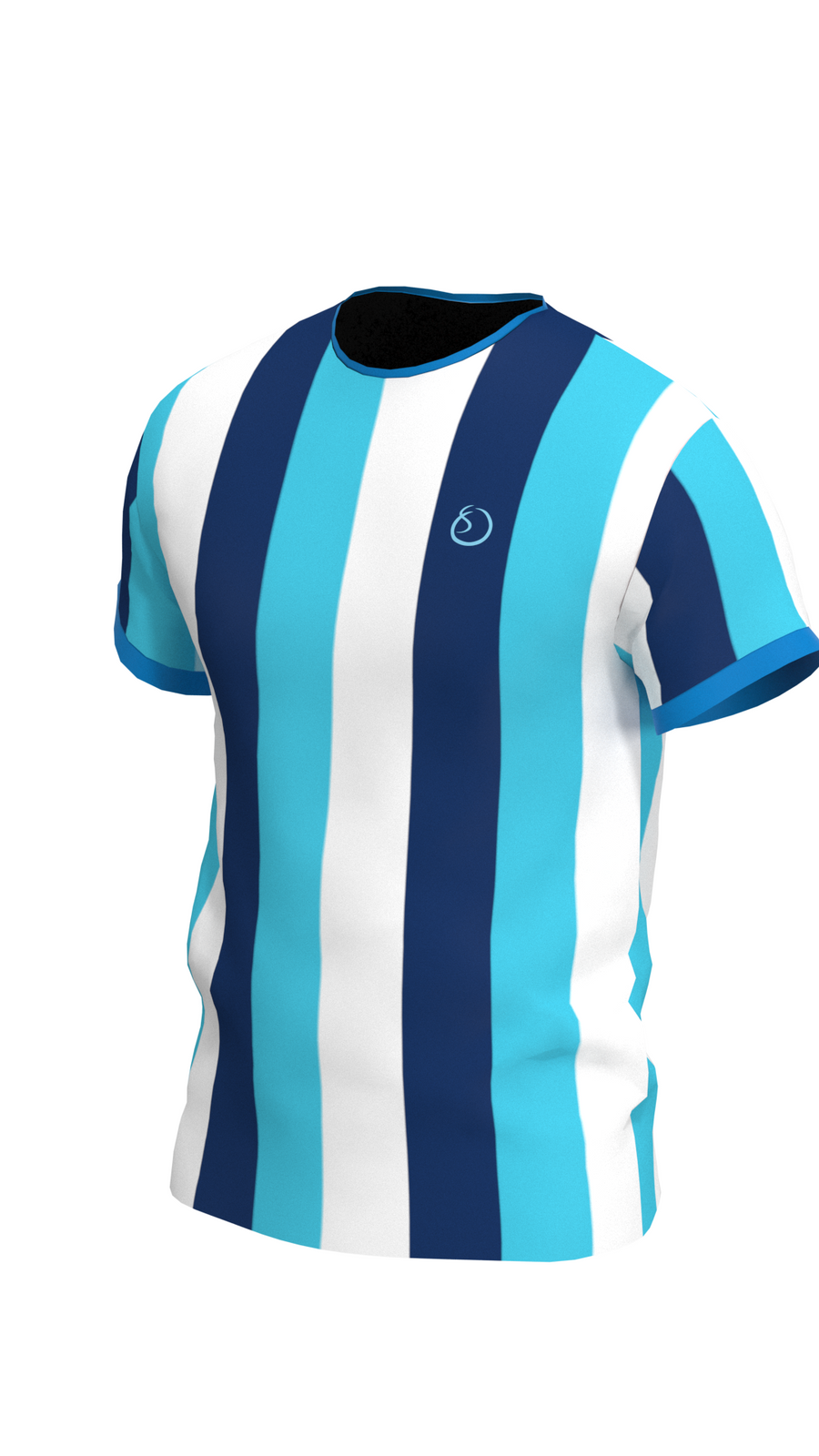 Blue Striped Men's Shirt