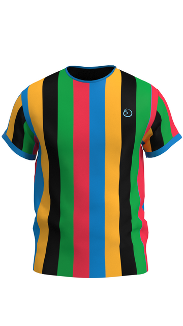 Olympic Striped Mens Shirt
