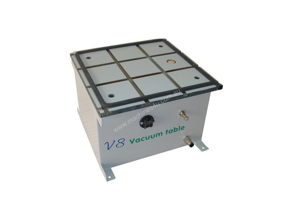 Aaron V8 Vacuum Table - Pneumatic Workpiece Holding