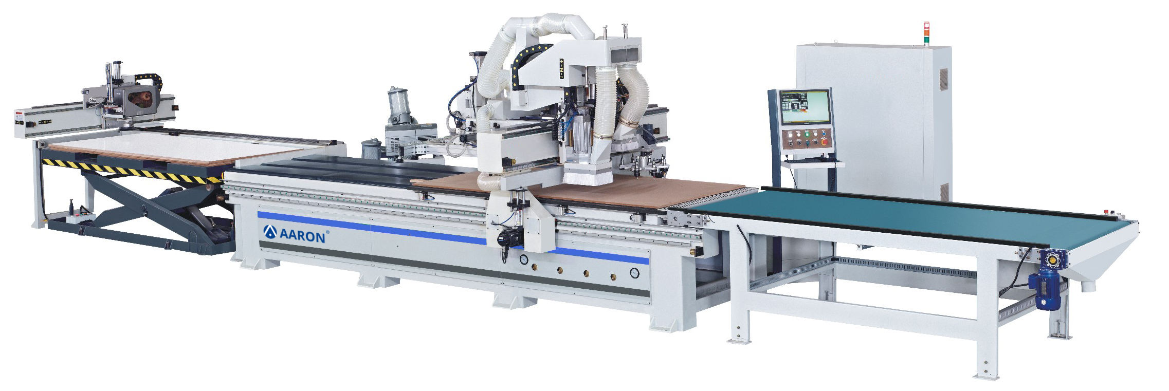 Aaron CNC51 - Premium CNC with Automatic Tool-Changer