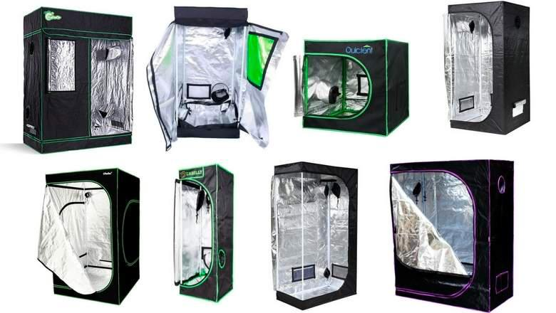 Grow tents – choices available for setting up a proper indoor growing environment