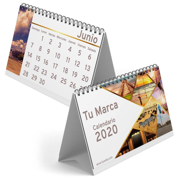 Calendario Media Carta 13 hojas
