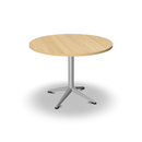 Table de réunion Pure Evolution ronde diamètre 100 cm pied fixe (4841786769545)