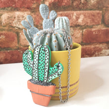 Load image into Gallery viewer, Nellie The Cactus Necklace
