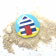 Load image into Gallery viewer, Medium Beach Hut Brooch