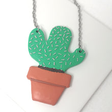 Load image into Gallery viewer, Monty The Cactus Necklace