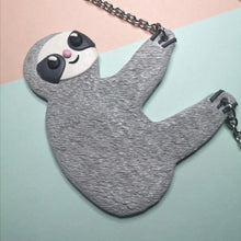 Load image into Gallery viewer, Sydney The Sloth Necklace