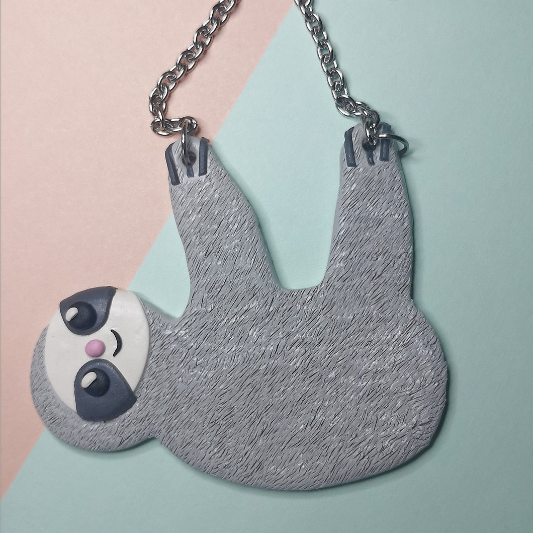 Sydney The Sloth Necklace