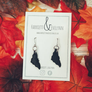 Moonstruck Bat Drop Earrings