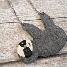 Load image into Gallery viewer, Sydney Sloth Necklace