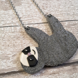 Sydney Sloth Necklace