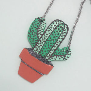 Nellie The Cactus Necklace