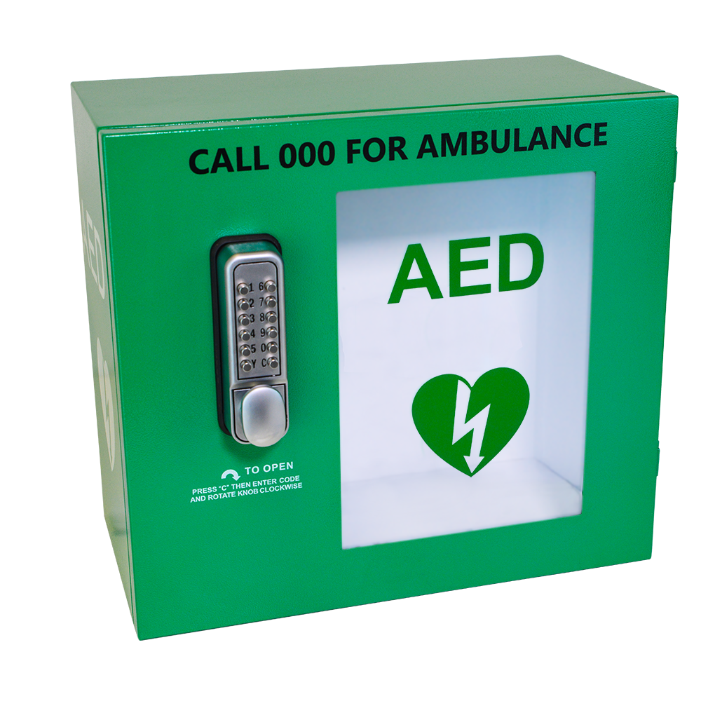 AED Secure Cabinet