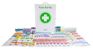 HeartSine: Commander 6 Series First Aid Kit Metal Cabinet