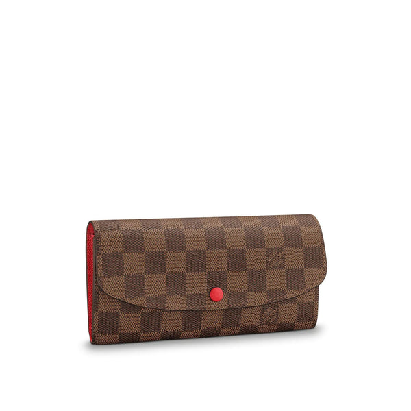 LV EMILIE Pink and Red Buttons