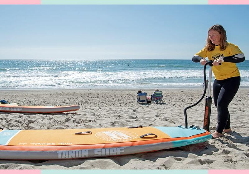 Standout Features of the TANDM SURF boards