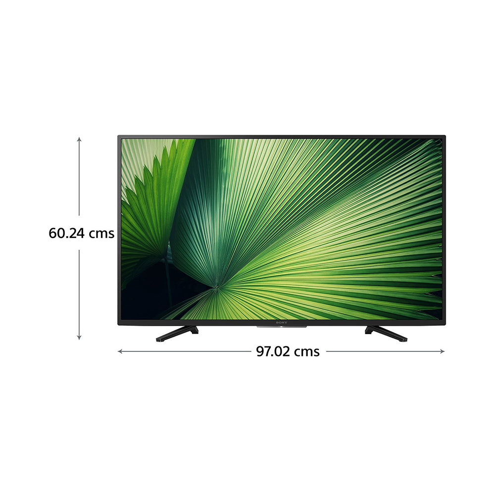 KDL-43W6600 - Sony Bravia 108 cm (43) FULL HD Smart LED TV (Black)