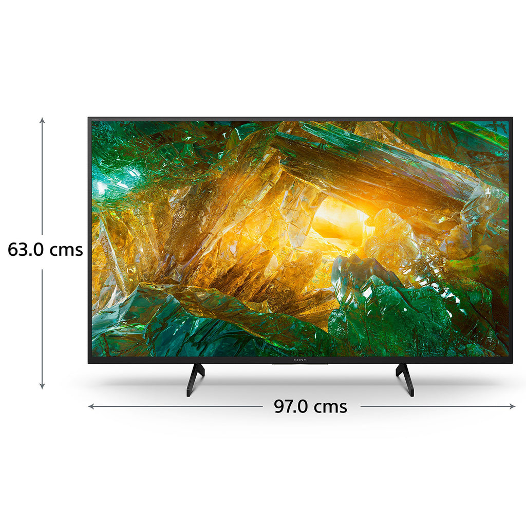 KD-43X8000H-Sony Bravia 108 cm (43 inches)  Ultra HD Certified Android Smart LED TV  (Black)