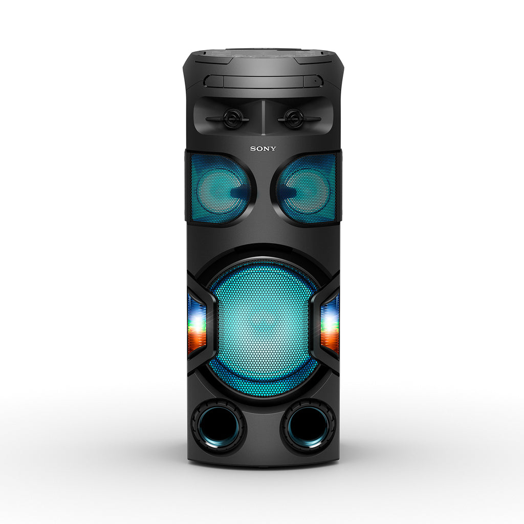 Sony MHC-V72D Party Speaker with 360 Degree and Long Distance Bass Sound - Black