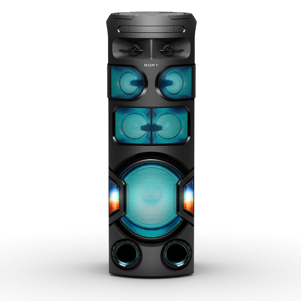 Sony MHC-V82D Powerful Party Speaker with 360 Degree and Long Distance Bass Sound - Black