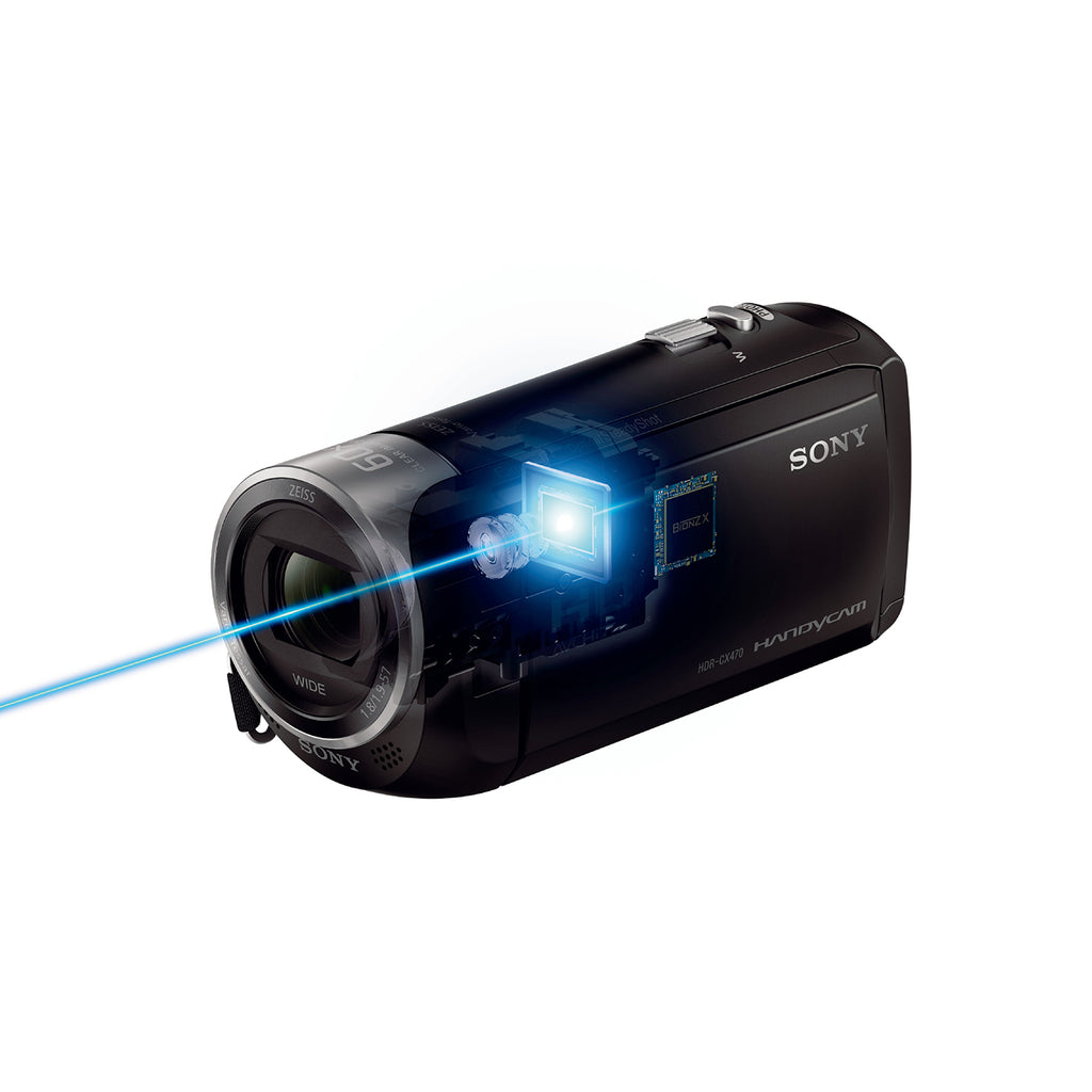 Sony HDR-CX470 Handycam with optical steadyShot