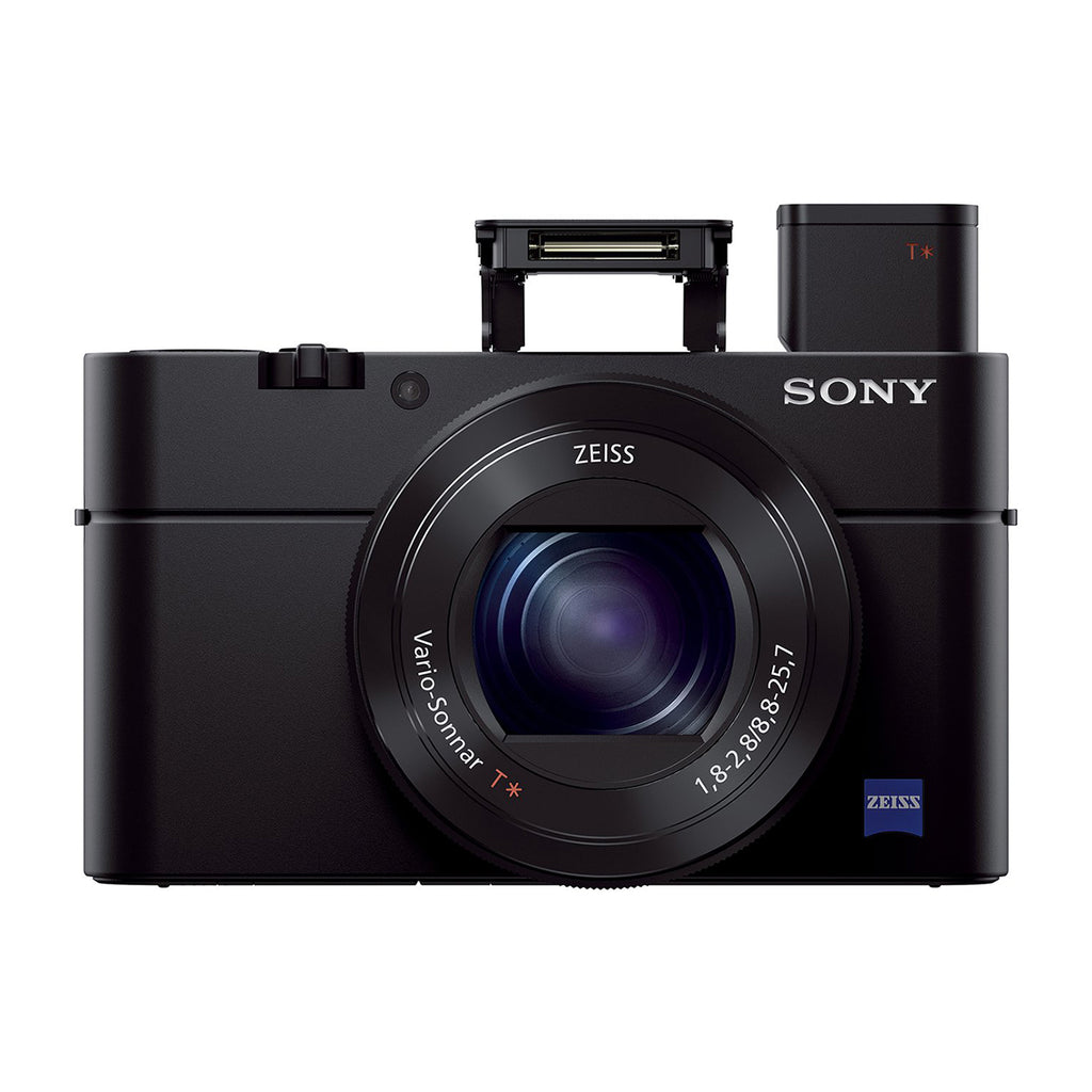 Sony Compact DSC-RX100M3 20.1MP Digital Camera with Bag (Black)