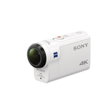 Sony Action Cam FDR-X3000R Digital 4K Video Camera Recorder with live view remote kit (White)