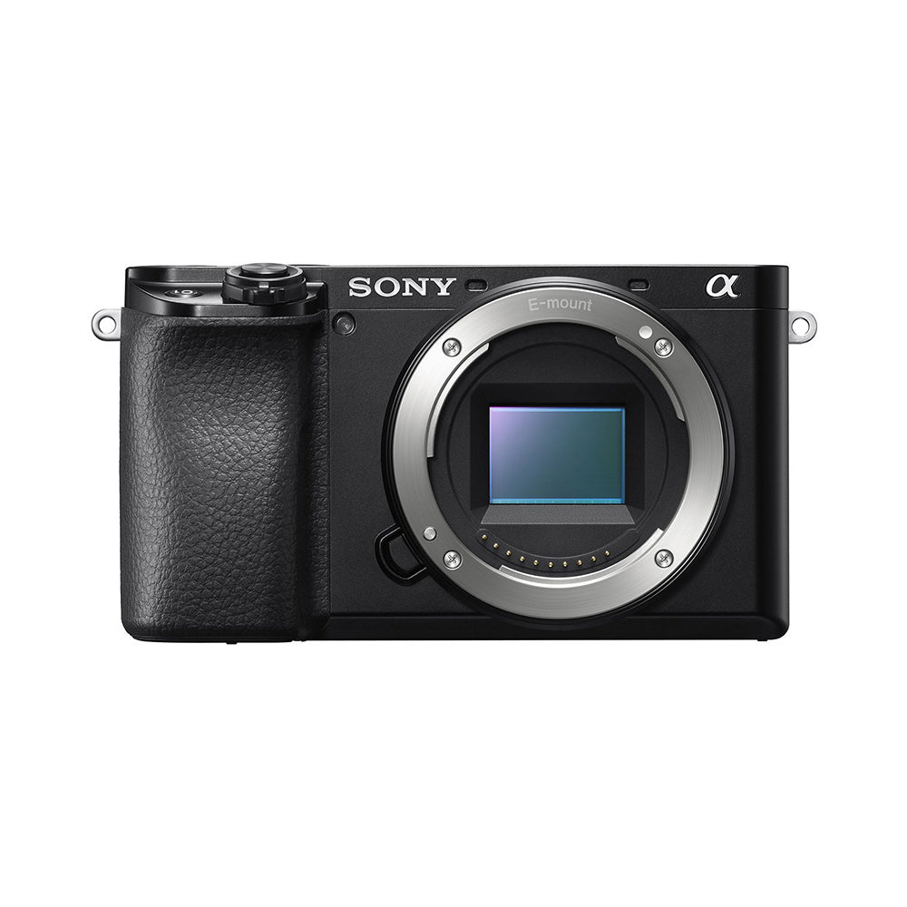 Sony Alpha ILCE-6100 24.2MP Mirrorless Digital SLR Camera Body (APS-C Sensor, Fastest Auto Focus, Real-time Eye AF and Real-time Tracking)