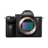 Sony Alpha ILCE-7 III Full-Frame 24.2MP Mirrorless Digital SLR Camera Body (4K Full Frame, Real-Time Eye Auto Focus, 4K Vlogging Camera, Tiltable LCD, Low Light Camera) - Black